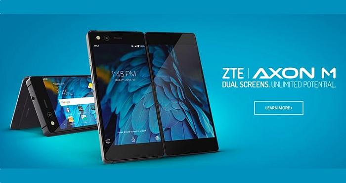 ZTE Axon M with Gorilla Glass 5